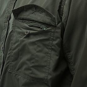 Craghoppers Kiwi Camisa de manga larga Hombre, cedar